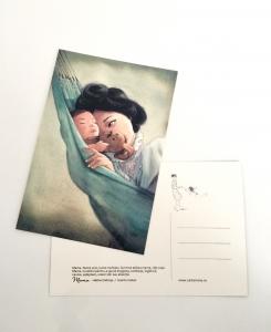 Postcard Mama P100