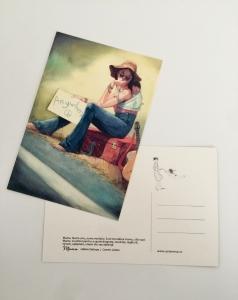 Postcard Mama P40