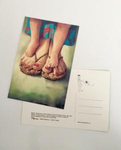 Postcard Mama P90