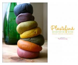 Plastelină naturală - pachet 10 culori1