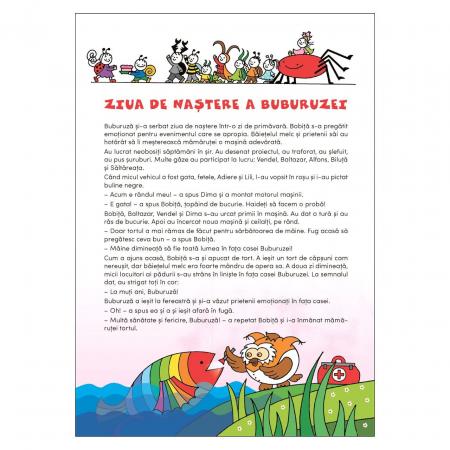 Bobiță și Buburuză - Carte cu activități, jocuri și povești nr. 2 [2]