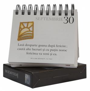 """Calendarul """"365 de zile:Ințelepciune""""2"""
