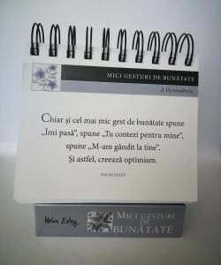 """Calendarul """"365 Mici gesturi de bunătate"""" [1]"""