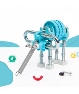 ElephantBit - 3 În 1 Animal Kit The OFFBITS - Set De Construit Cu Șuruburi Și Piulițe2