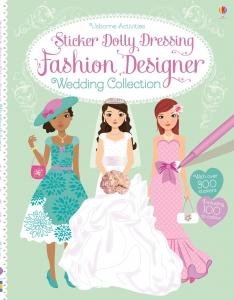 Sticker dolly dressing - Fashion designer wedding collection0