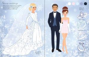 Sticker dolly dressing - Fashion designer wedding collection3