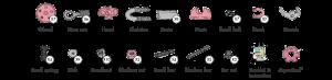 FlamingoBit - 3 În 1 Animal Kit The OFFBITS - Set De Construit Cu Șuruburi Și Piulițe2