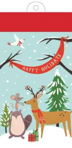 LIST PADS: HOLIDAY FOREST FRIENDS0