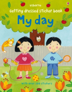 Getting dressed sticker book: My Day0