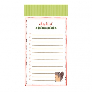 LIST PADS: HOLIDAY FOREST FRIENDS1