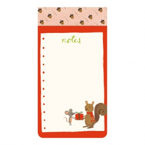 LIST PADS: HOLIDAY FOREST FRIENDS2