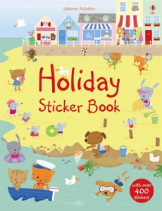 Holiday sticker book0