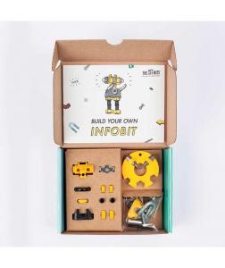 InfoBit - 3 În 1 Character Kit The OFFBITS - Set De Construit Cu Șuruburi Și Piulițe2