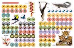 Jungle Ultimate Sticker Book1