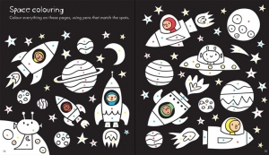 Little Children's Space Activity Book1