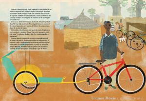 O bicicleta rosie3