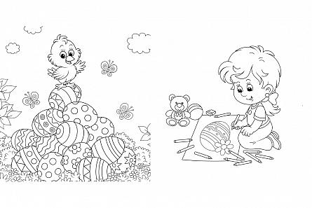 Paste fericit! - Carte de colorat [2]