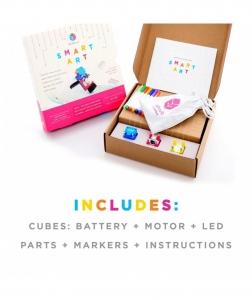 Circuit Cubes - Kit Artă Inteligentă2