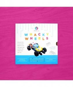Circuit Cubes - Kit Mașină Whacky cu Roți0