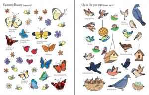 First Sticker Book Garden1
