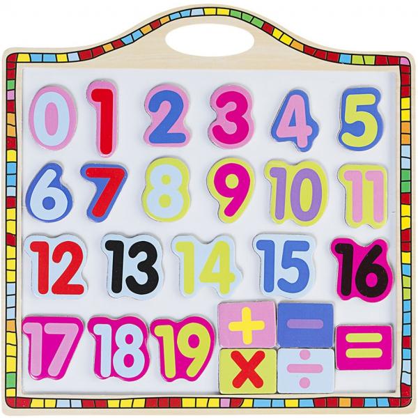 Tabla magnetica cu numere si operatii [0]