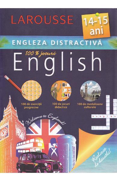 Larousse, Engleza distractiva 14-15 ani. Larousse 0