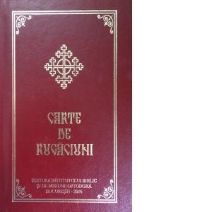 Carte de rugaciuni cu scris mare (legata) de Aprobarea Sfantului Sinod 0
