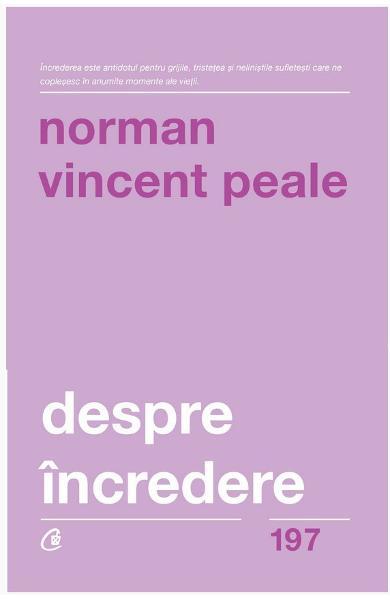 Despre incredere de Norman Vincent Peale [0]