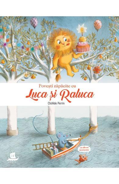 Povesti zapacite cu Luca si Raluca de Clotilde Perrin 0