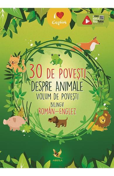 30 de povesti despre animale (roman-englez) [0]