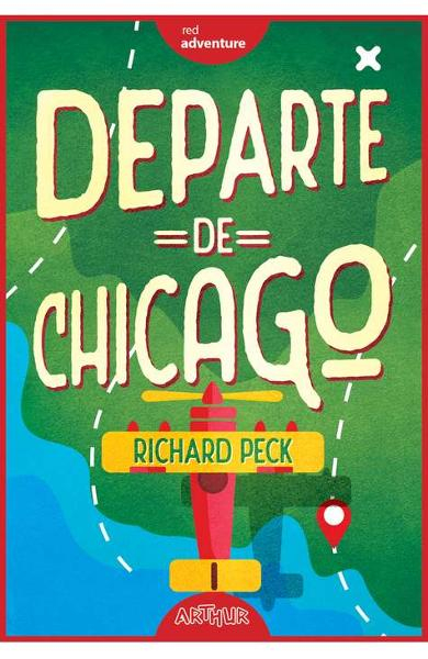 Departe de Chicago de Richard Peck 0