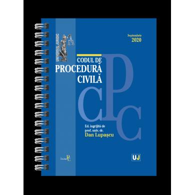 Codul de procedura civila Septembrie 2020 de Dan Lupascu [0]