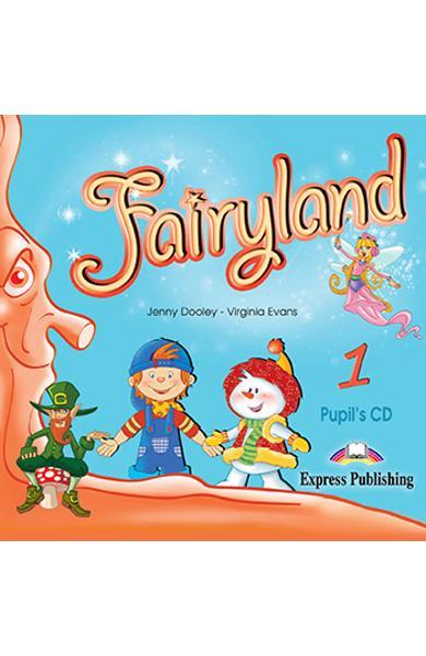 Curs limba engleza Fairyland 1 Audio CD elev - Jenny Dooley, Virginia Evans - Editie 2020 0