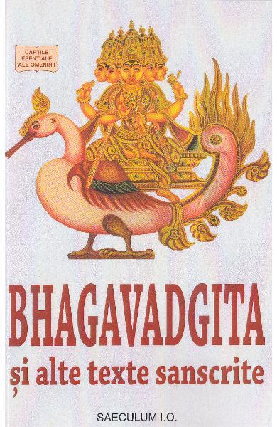 Bhagavadgita si alte texte sanscrite de *** [0]