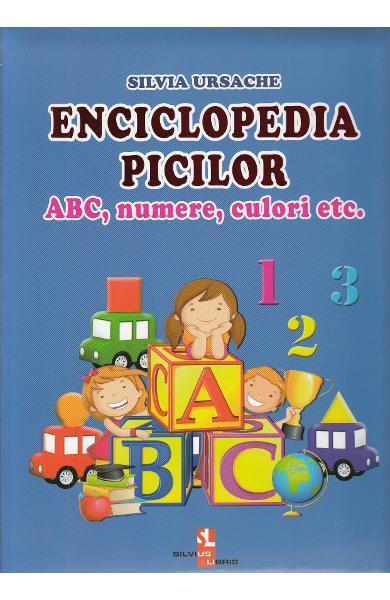 Enciclopedia picilor: ABC, numere, culori de Silvia Ursache 0