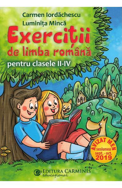 Exercitii de limba romana - Clasa 2-4 0