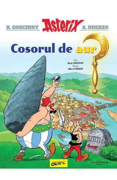 Asterix, cosorul de aur de Rene Goscinny [0]