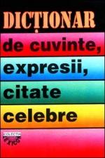 Dictionar de cuvinte, expresii, citate celebre de I. Berg [0]