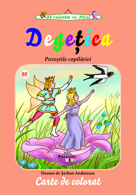 Degetica - carte de colorat 0