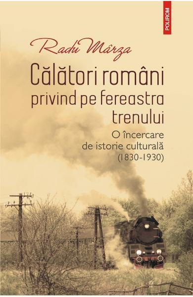 Calatori romani privind pe fereastra trenului 0