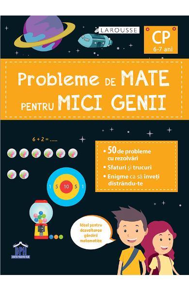 Probleme de mate pentru mici genii. Larousse - Clasa pregatitoare [0]