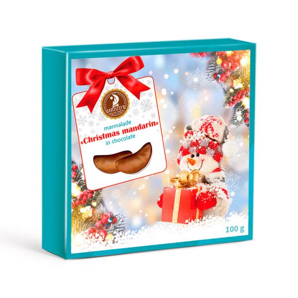 "Marmelada in ciocolata ""Christmas mandarin"" SHOUD'E natural sweets [0]"