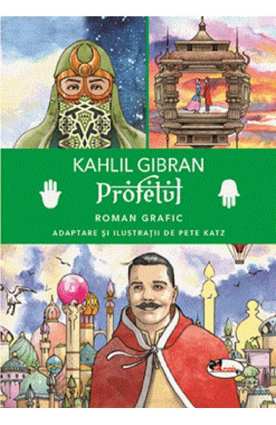 Profetul. Roman grafic de Kahlil Gibran 0