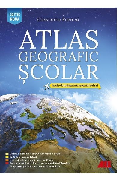 Atlas geografic scolar Ed.6 de Constantin Furtuna [0]