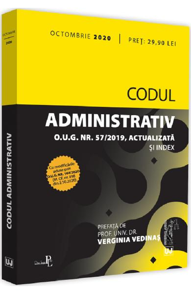 Codul administrativ Octombrie 2020 0