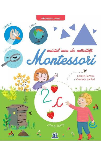 Caietul meu de activitati Montessori de Celine Santini [0]