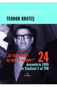 24 decembrie 1989 in Studioul IV al TVR de Teodor Brates 0