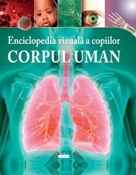 enciclopedia vizuala a copiilor corpul uman de clare hibbert 0