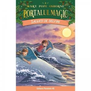 Salvati de delfini. Portalul Magic nr. 9 de Mary Pope Osborne [0]
