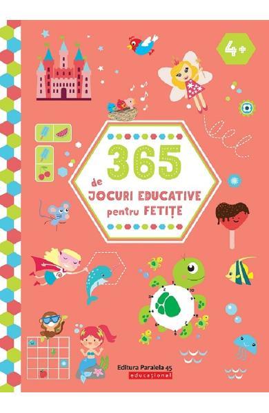 365 de jocuri educative pentru fetite 4 ani+ 0